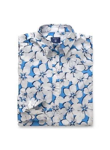 Çiçek Desenli Gömlek-Gant